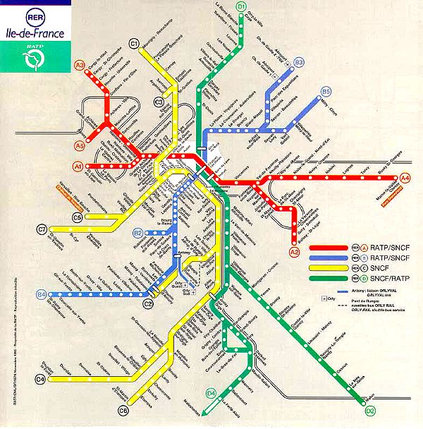 Map Of World Page 2: Map Of Train Routes In France At Infoasik.co